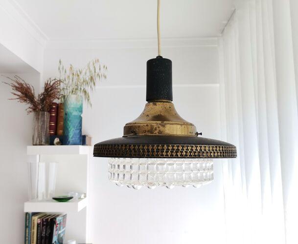 Vintagemodern black lamp