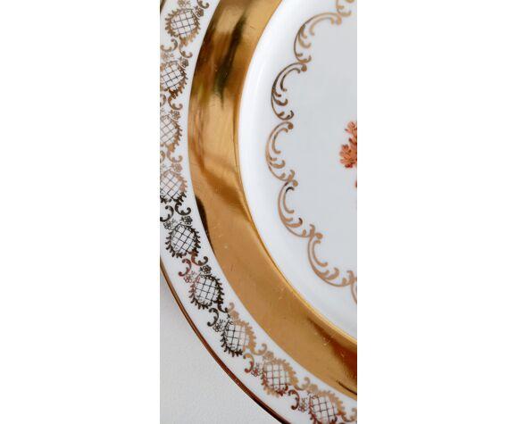 Assiette en porcelaine Gloria