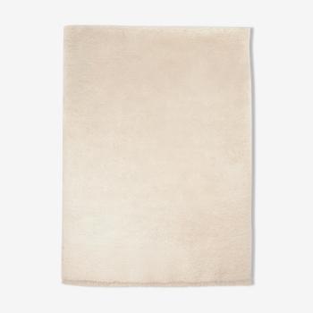 Tapis berbere beni ourain ecru 226 x 160 cm