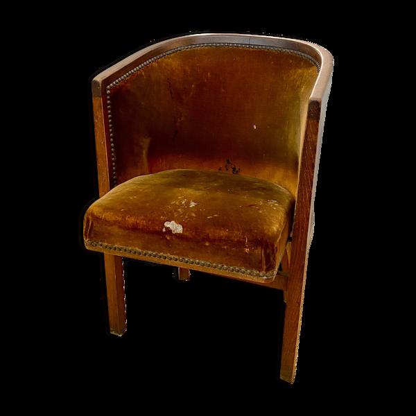 Ancien fauteuil pliant