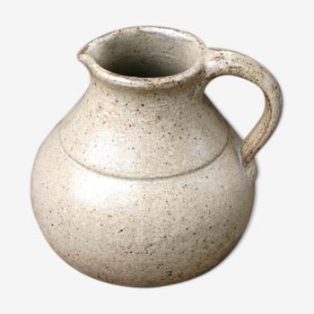 Cruche/pichet ancien en grès-terre cuite