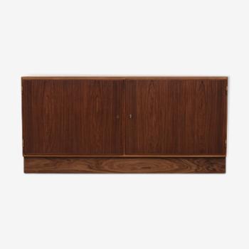Buffet en palissandre, design danois, années 60, designer: Carlo Jensen, production: Hundevad