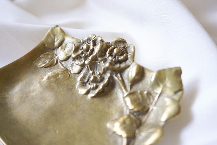 Cendrier en bronze art nouveau
