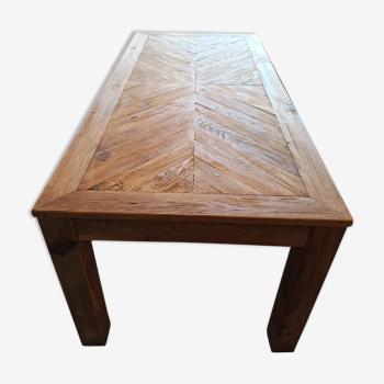Table en pin