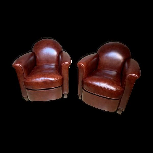Selency Paire de fauteuils club