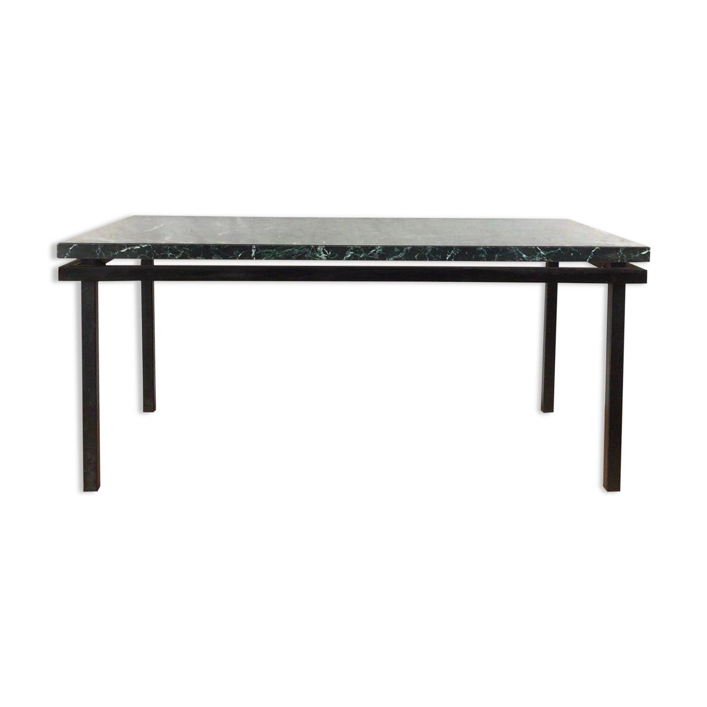 Table basse formica imitation marbre