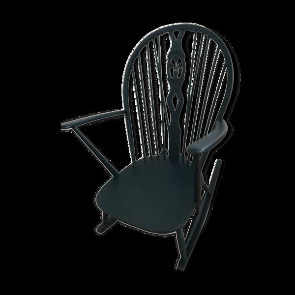 Selency Rocking chair L.Ercolani pour Ercol