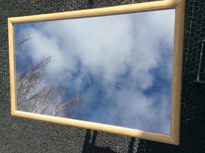 Miroir en bois 135x85cm