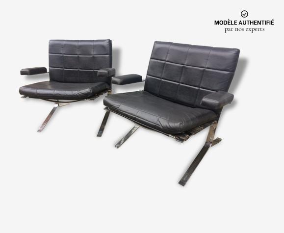 Paire de fauteuils joker  Olivier Mourgue