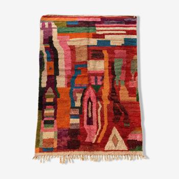 Tapis berbère marocain Boujaad à motifs colorés 294x182cm