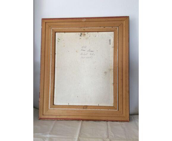 Tableau de peintre Michael Kokin 1921-2009  Huile sur toile dimension : hauteur -41cm- largeur–33