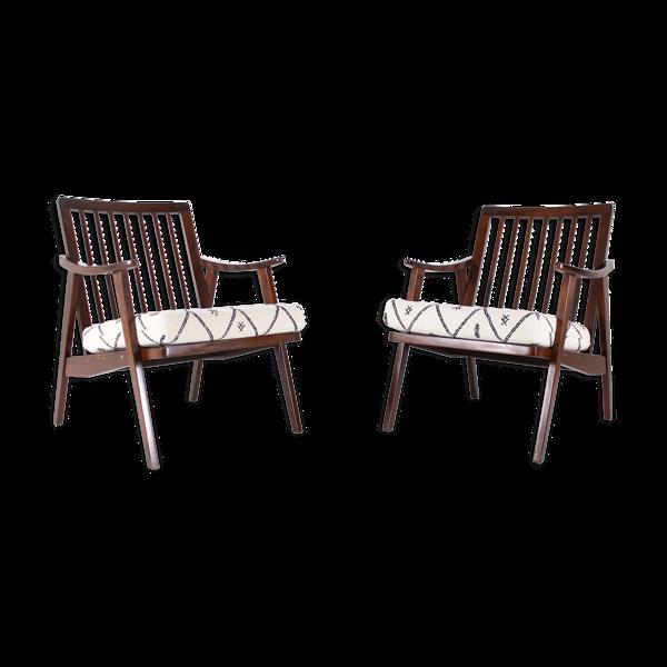 Selency Paire de fauteuils