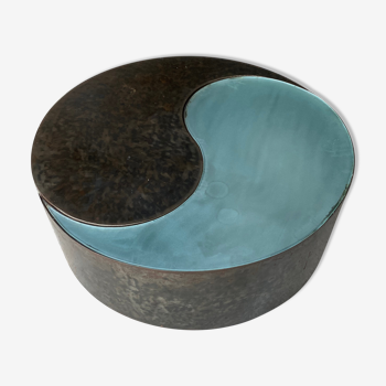 Table basse yin yang