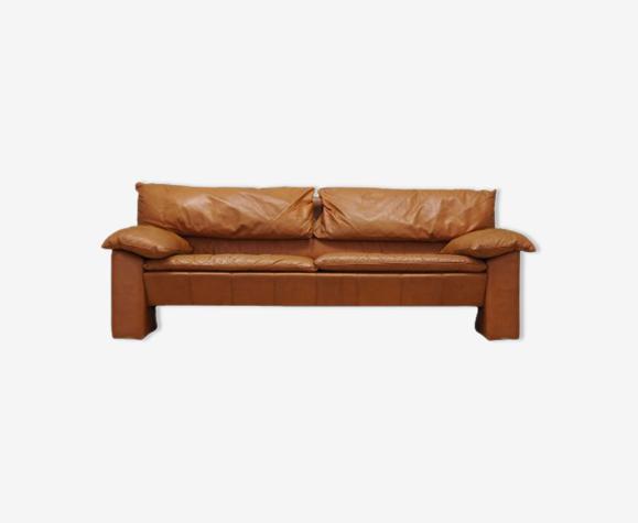 Canapé en cuir années 60 design danois production: Danemark