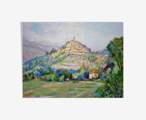Le village haut perché de Charles Belbeoc'h (1926- )