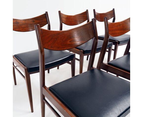 Ensemble de 6 chaises par Oswald Vermaercke pour V-Form