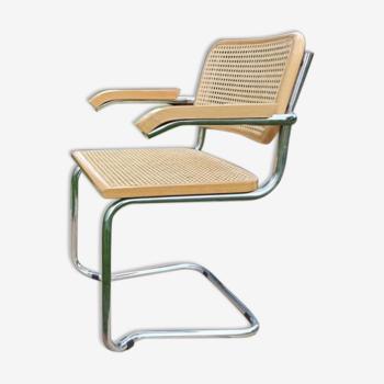 Chaise de style Bauhaus, Italie, années 1960 / 1970