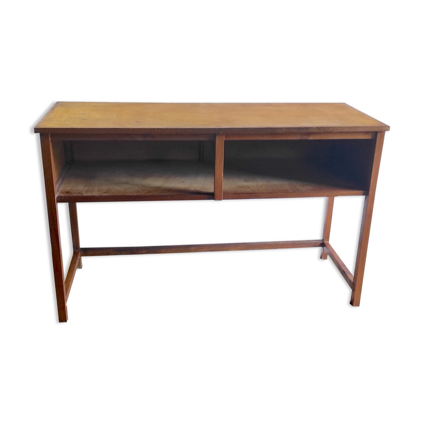 Meuble de métier/Console en bois – mid. XXème