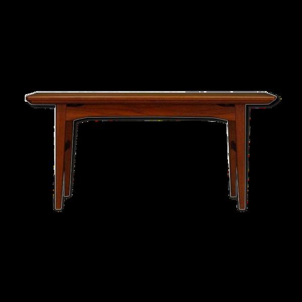Table basse en teck danish design vintage