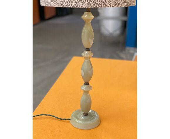 Lampe à poser en marbre années 70