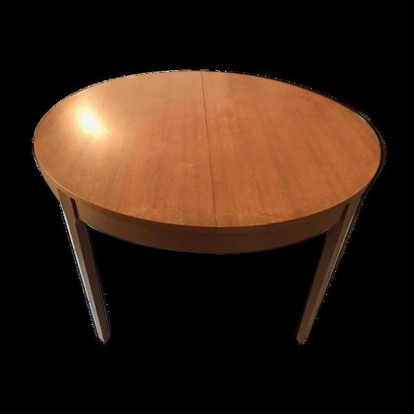 Selency Table ronde scandinave avec rallonge