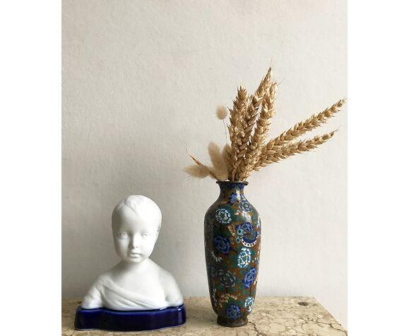 Buste d'enfant en biscuit et porcelaine de Limoges d'après Camille Tharaud