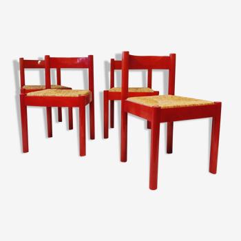 Ensemble de 4 chaises