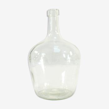 Dame jeanne en verre moulé soufflé