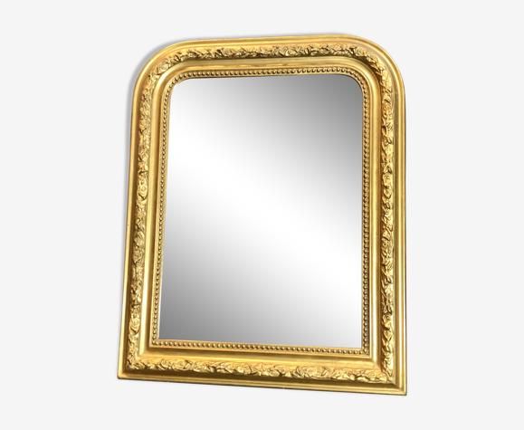Miroir ancien  61cm x 49cm époque 1900