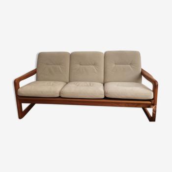 Canapé armature bois