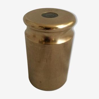 Poids de contrôle en laiton 2 kg pour balance de commerce