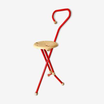 Chaise canne Ulisse design Ivan Loss années 70 - 80