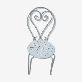 chaise de jardin en fer