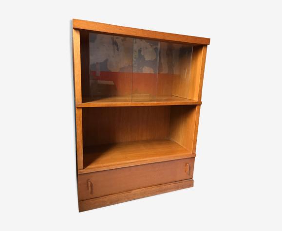 Meuble bibliothèque vitrine étagère modulable