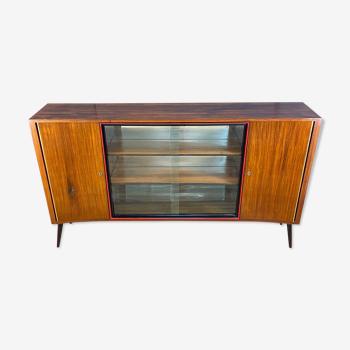 Commode des années 1960, PRL, vintage, loft