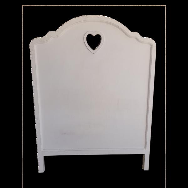 Tête de lit coeur
