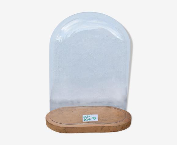 Globe en verre ovale 35,5 cm