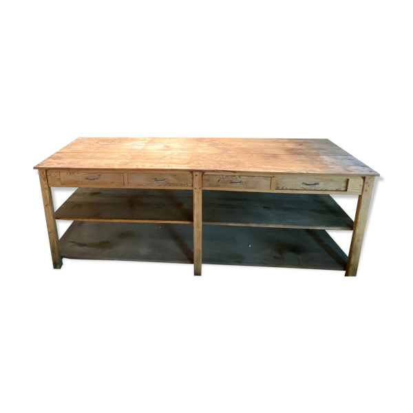 Selency Table console drapier meuble de métier