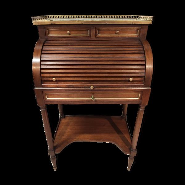 Bureau à cylindre style Louis XVI