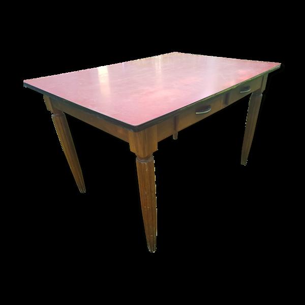 Table bois et formica