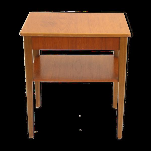 Selency Table de chevet de conception danoise vintage