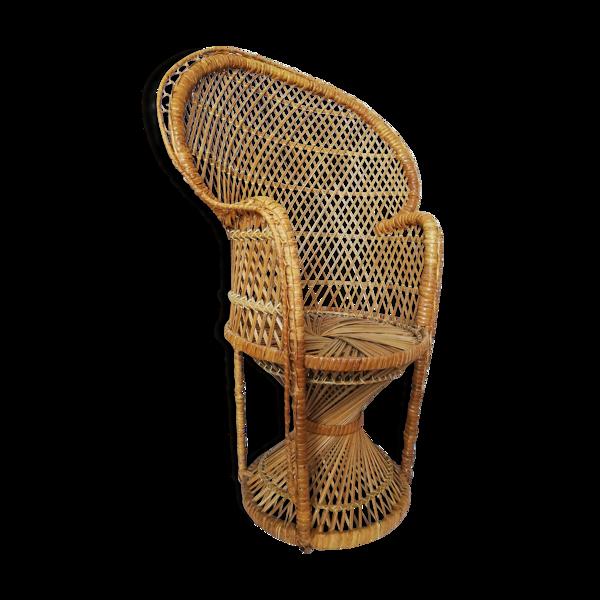 Chaise de paon pour enfants