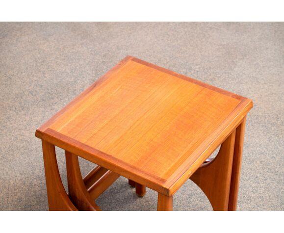 Scandinavian teak coffee tables