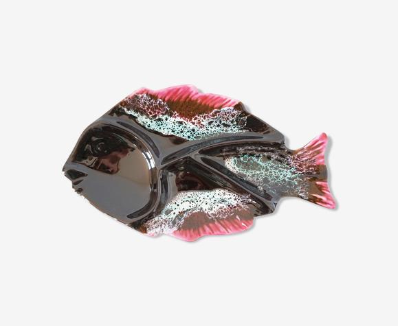 Plat poisson vintage Vallauris