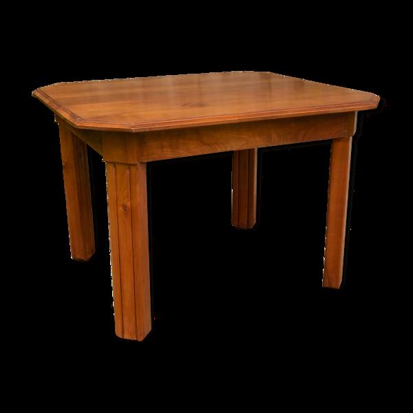Table merisier années 1950