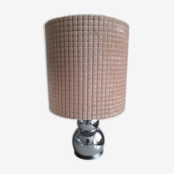 Lampe vintage métallique des années 70
