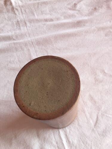 Vase rouleau en grès