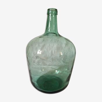 Dame Jeanne verte 12 litres ancienne