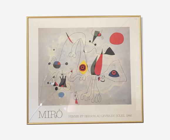 Affiche Miro
