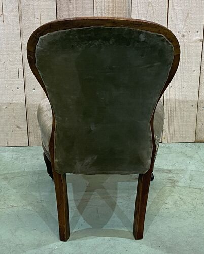 Victorian children's chair in mahogany - 19th